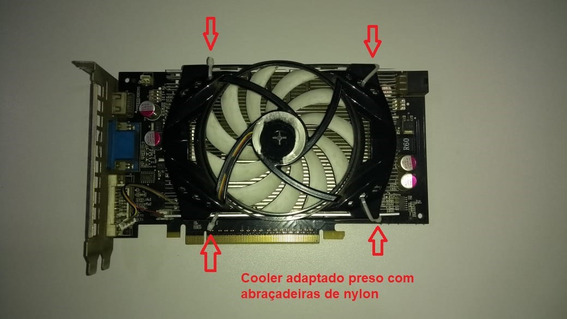 Placa De Vídeo Evga Gts 250 1gb 256bits