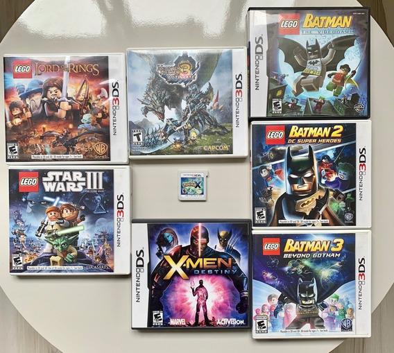 Kit 8 Jogos Nintendo Ds E 3ds - Mídia Fisica