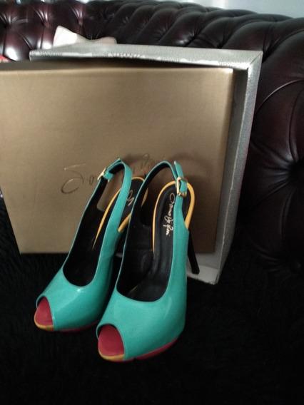 Zapatos Saverio Di Ricci Combinados. Sin Uso!