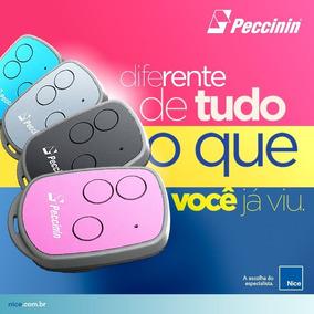 08 Controle Remoto Portão E Alarme New Evo Peccinin 3 Botões