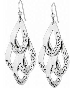 Imagen 1 de 2 de Aretes De Plata 950 Pendientes De Mujer Joyas Regalos Silver