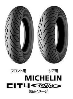 Cubierta Yamaha Nm X 155 Trasera 130-70-13 Michelin City Gri