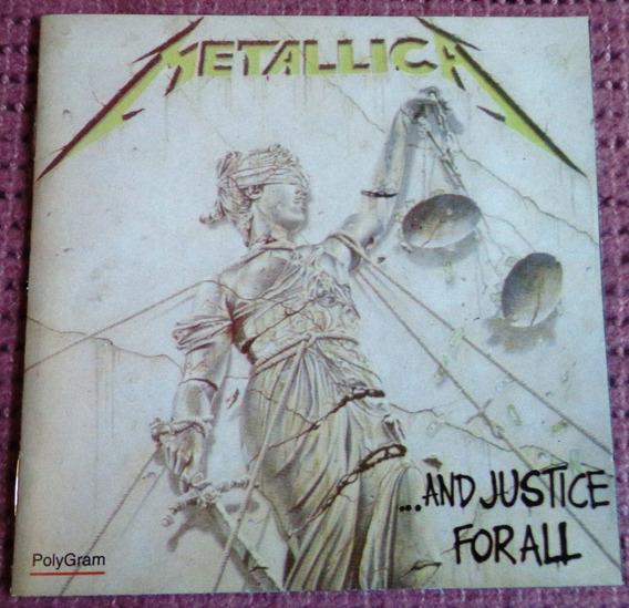 And Justice For All Metallica 1° Edición Impecable