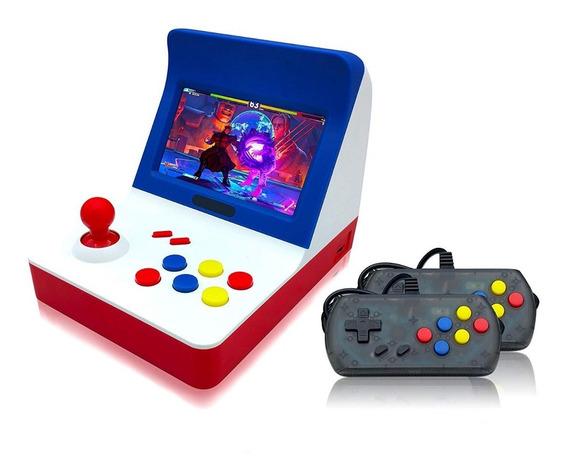 Consola Retro Mini Arcade Rs07 3000 Juegos Chicos Y Grandes