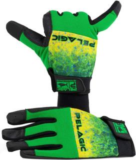Pelagic Guantes End Game Pro - Gloves Dorado Talla: L-xl
