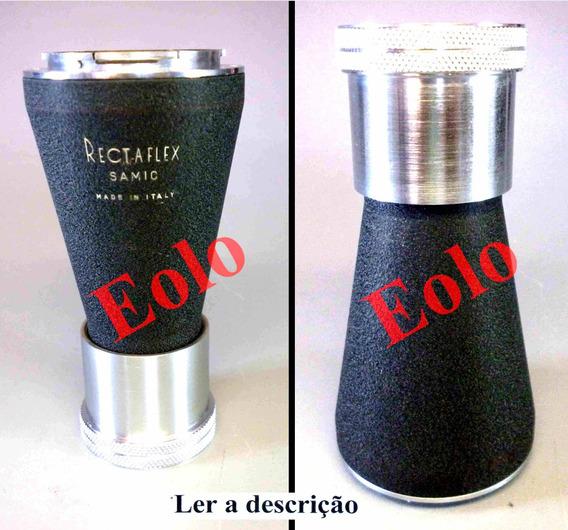 Rectaflex -de Camera Antiga Adaptador Samic Para Microscópio