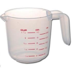 Taza Medidora 1 Litro Plástico (4-0301)