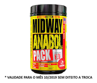 Kit 3 Anabol Pack Usa 3x30 Pack Midway