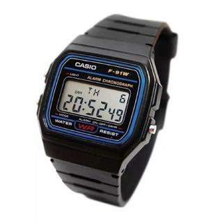 Reloj Casio F-91w 1d F-91 F91 Hombre Vintage Impacto Online
