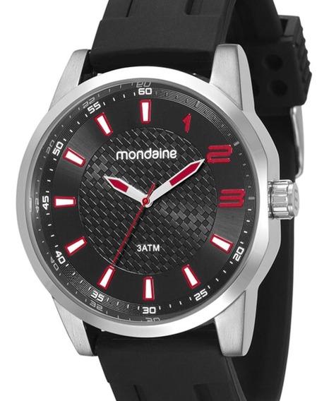 Relógio Mondaine Masculino Preto 53526g0mvni1