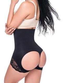 Short Levanta Bumbum Cinta Modelador Redutor De Cintura