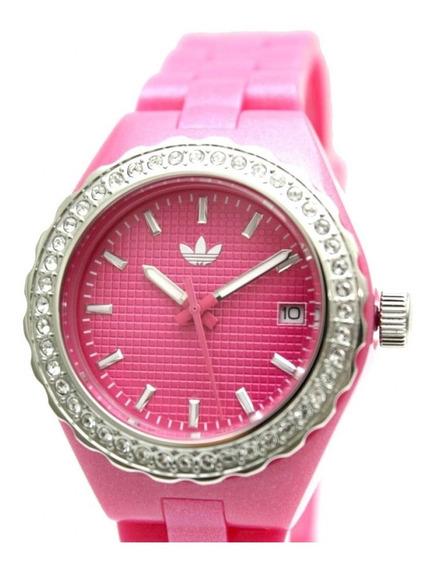 Relógio De Pulso adidas Adh2106n Rosa Feminino Original