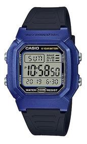Relogio Casio W-800hm-cores Retrô-vintage Alarm Crono Caixa