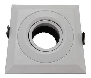Spot Embutir Idea Aster C Blanco Cuadrado Dicro Led Gu10 - E