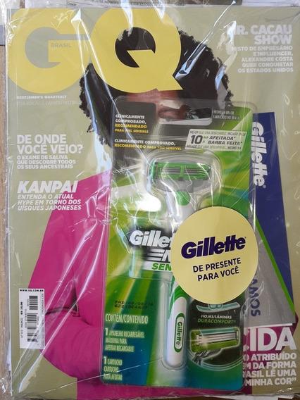 Revista Gq Brasil 103 - Março 2020 - Brinde Gilette Mach3