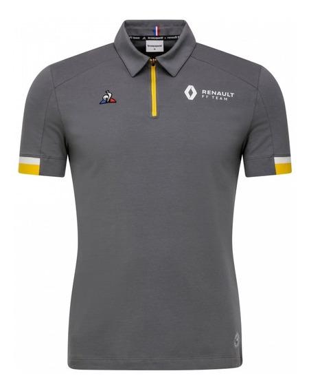 Playera Polo Le Coq Sportif Renault F1 Team 2019 Gris