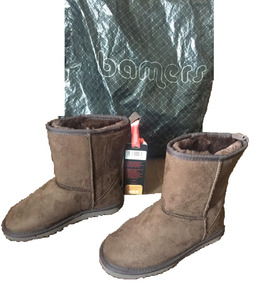 Botas Bamers Color Chocolate N°32 Nuevas Perfecto Estado