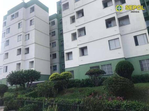 Apartamento Com 2 Dormitórios Para Alugar Por R$ 1.000/mês - Jardim Dona Sinhá - São Paulo/sp - Ap0401