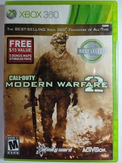 Call Of Duty Modern Warfare 2 Xbox 360 - Físico - Original