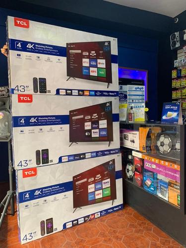 Imagen 1 de 1 de Tcl Smart Tv 4k Ultra Hd 43 Pulgadas