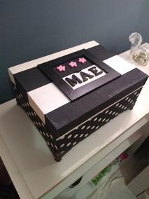 Caixa Decorativa Personalizada Em Mdf