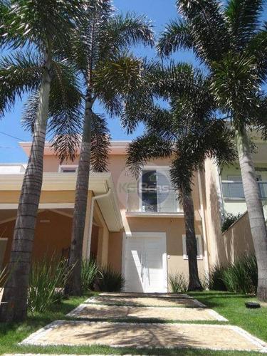 Casa À Venda, 253 M² Por R$ 1.050.000,00 - Condomínio Campos Do Conde 1 - Paulínia/sp - Ca0472