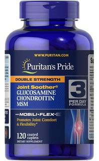Glucosamine Chondroitin Msm 120 Ca - Unidad a $749