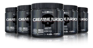 5x Creatine Turbo 150g Atacado - Black Skull