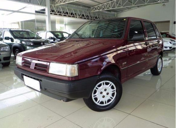 Fiat Uno 1.0 Ie Mille Manual Gasolina 1996 Vinho.