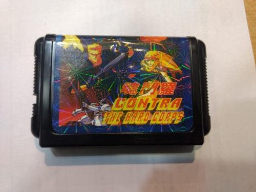 Cartucho Contra Sega 16 Bit Nuevo Once