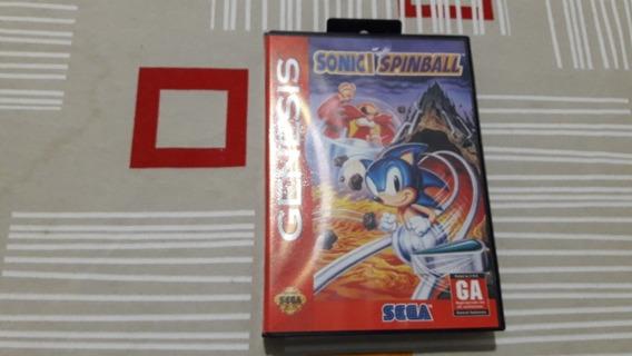 Md Sonic Spinball Completo Funcionando 100% #198