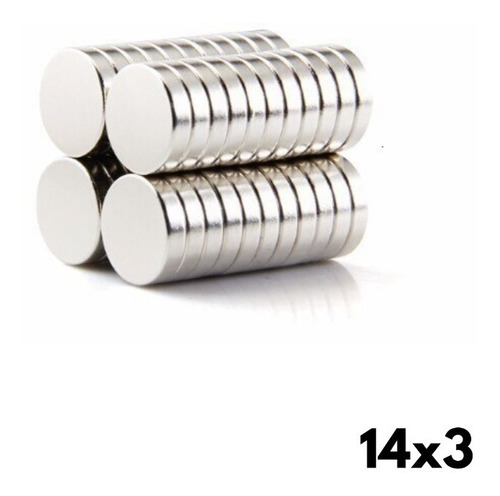 Iman De Neodimio 14 X 3 Mm (2 Unidades)