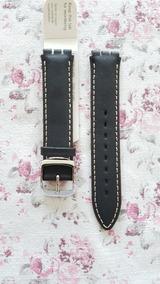 Pulseira Relogio Swatch 17mm Hirsch Qualidade Original Yy