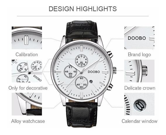 Relógio Masculino De Luxo Disponível Em 5 Modelos