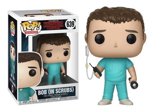 Funko Pop Bob In Scrubs #639 Stranger Things