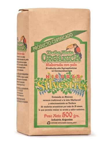Pack X 12 Yerba Mate Orgánica Silvestres