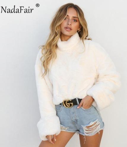 Blusa De Frio Super Fofinha - Branca - Importada Maravilhosa
