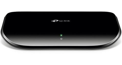 Imagen 1 de 6 de Switch 5 Puertos Tp-link Gigabit 10/100/1000 Mbps Tl-sg1005d