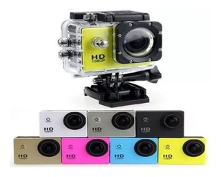 Pack X2camara Deportiva Sumergible Full Hd 1080p