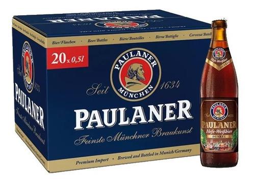 Imagem 1 de 2 de 20x Cerveja Alemã Paulaner Weissbier Dunkel 500ml