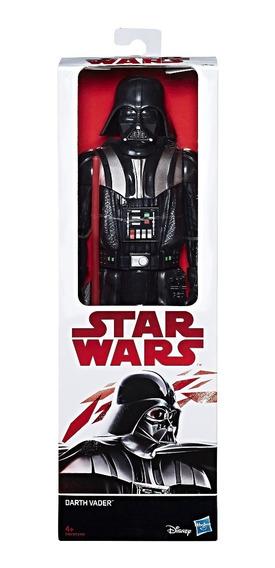 Boneco Star Wars Titan Hero Darth Vader 30 Cm Hasbro