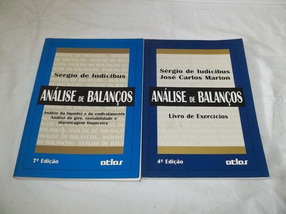 Livro - Analise De Balanços 2 Volumes Sergio De Ludicibus