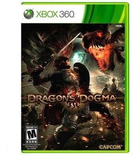 360 Dragons Dogma Fisico Original Nuevo Sellado
