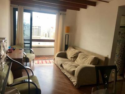 Apartamento Em Moema, São Paulo/sp De 70m² 1 Quartos À Venda Por R$ 730.000,00 - Ap254090