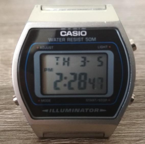 Reloj Casio B640w Plata Original Vintage Envio Gratis
