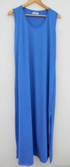 Talles Grandes- Maxi Vestido Musculosa Jersey L Al 6xl