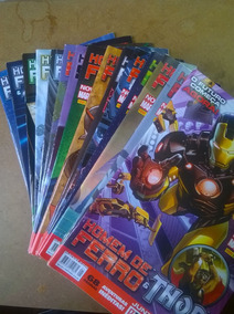Coleção Homem De Ferro E Thor Nova Marvel De 01 A 15