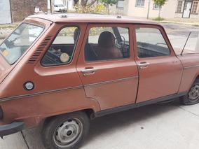 Renault R 6 1981 Motor Desarmado Con 08 Certificado