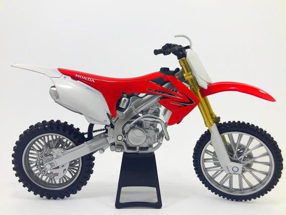 Miniatura Replica Newray Honda Crf 450 - Escala 1:12
