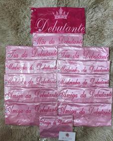Robe De Cetim Bordado Debutante 15 Anos Roupão Hobby Defeito